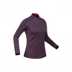 Koszulka narciarska MD 500 damska. Białe t-shirty damskie marki Adidas, xs. Za 79,99 zł.