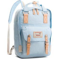 Plecak DOUGHNUT - D010-0059-F Macaroon Iceberg. Niebieskie plecaki męskie Doughnut, z materiału. W wyprzedaży za 259,00 zł.