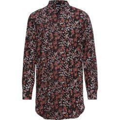 Długa bluzka bonprix czarny w kwiaty. Czarne bluzki longsleeves bonprix, w kwiaty. Za 89,99 zł.