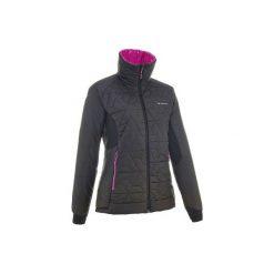 Kurtka trekkingowa zimowa Top-light damska. Czarne kurtki damskie marki FORCLAZ, na zimę, xs, z elastanu. W wyprzedaży za 89,99 zł.