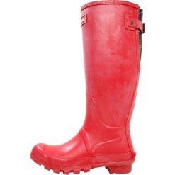Barbour JARROW Kalosze tartan red. Czerwone buty zimowe damskie Barbour, z materiału. Za 419,00 zł.