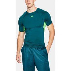 Under Armour Koszulka męska HG ARMOUR SS zielona r. XL (1257468-716). Szare koszulki sportowe męskie marki Under Armour, l, z dzianiny, z kapturem. Za 102,36 zł.