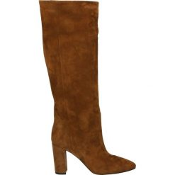 Kozaki - 02511 CAM ROD. Brązowe buty zimowe damskie Venezia, ze skóry. Za 639,00 zł.