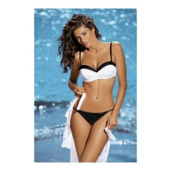 Kostium kąpielowy Dolores Nero-Bianco M-307 biało-czarny (172). Białe bikini marki MAT. Za 104,90 zł.