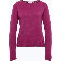 (THE MERCER) N.Y. - Sweter damski z kaszmiru, lila. Czerwone swetry klasyczne damskie (THE MERCER) N.Y., z kaszmiru. Za 599,95 zł.