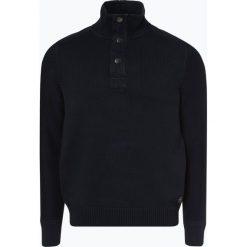Marc O'Polo - Sweter męski, niebieski. Szare swetry klasyczne męskie marki Recman, m, z kołnierzem typu troyer. Za 649,95 zł.