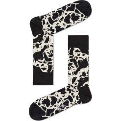 Happy Socks - Skarpety Marble. Czarne skarpetki męskie Happy Socks, z bawełny. Za 39,90 zł.