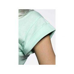 Koszulka miętowa Czuję Miętę. Zielone bluzki asymetryczne ŁAP NAS, l, z nadrukiem, z bawełny. Za 89,00 zł.