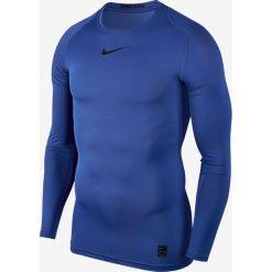 Nike Koszulka męska M NP TOP LS COMP niebieska r. XL (838077 480). Niebieskie t-shirty męskie marki Nike, m. Za 119,90 zł.