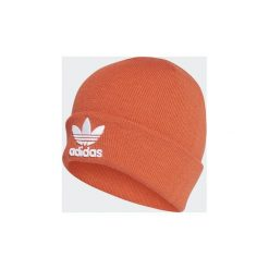 Czapki adidas  Czapka beanie Trefoil. Brązowe czapki zimowe męskie Adidas. Za 89,95 zł.