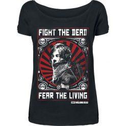 Bluzki, topy, tuniki: The Walking Dead Daryl Dixon - Fight Koszulka damska czarny