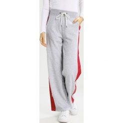 GStar LAJLA PANT  Spodnie treningowe grey heather. Szare spodnie dresowe damskie G-Star, l, z bawełny. Za 419,00 zł.