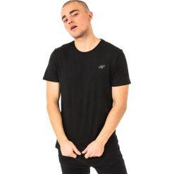4f Koszulka męska H4L18-TSM002 czarna r. XXL. Czarne koszulki sportowe męskie marki 4f, l. Za 27,47 zł.
