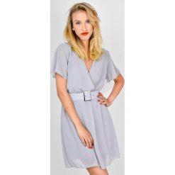 Sukienki: Sukienka koszulowa z paskiem