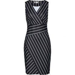 Sukienki: Sukienka bonprix biało-czarny w paski
