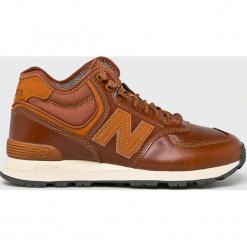New Balance - Buty MH574OAD. Brązowe buty skate męskie New Balance, z materiału. W wyprzedaży za 439,90 zł.