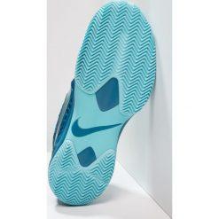Nike Performance AIR ZOOM CAGE 3 CLY Obuwie do tenisa Outdoor green abyss/metallic silver/blue force. Czarne buty do tenisa męskie marki Asics. Za 549,00 zł.