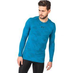 Under Armour Koszulka męska Jacquard Crew niebieska r. S (1285091-779). Szare koszulki sportowe męskie marki Under Armour, l, z dzianiny, z kapturem. Za 167,27 zł.