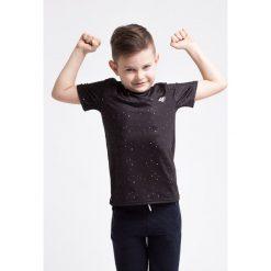 Bluzki dziewczęce z nadrukiem: Koszulka sportowa dla małych chłopców JTSM304z - czarny