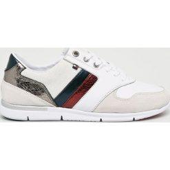 Tommy Hilfiger - Buty. Szare buty sportowe damskie marki TOMMY HILFIGER, z materiału. W wyprzedaży za 399,90 zł.