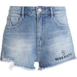 Bermudy damskie: Miss Sixty RAE Szorty jeansowe blue denim