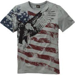 T-shirty męskie z nadrukiem: T-shirt Slim Fit bonprix szary