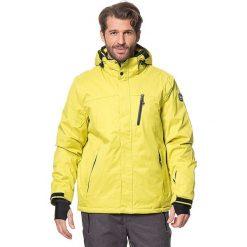 """Kurtka narciarska """"Pari"""" w kolorze żółtym. Żółte kurtki męskie KILLTEC, m. W wyprzedaży za 282,95 zł."""