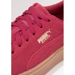 Puma Tenisówki i Trampki red. Czerwone trampki chłopięce marki Puma, z materiału, na sznurówki. W wyprzedaży za 200,85 zł.