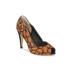Czółenka Dumond  GUATIL. Brązowe buty ślubne damskie Dumond. Za 423,20 zł.
