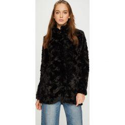 Vero Moda - Kurtka Curl. Niebieskie kurtki damskie marki Vero Moda, z bawełny. Za 219,90 zł.