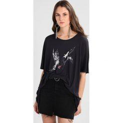 T-shirty damskie: AllSaints LOVERS DREAMS Tshirt z nadrukiem washed black