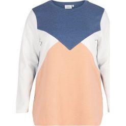 Bluza z nadrukiem. Szare bluzy z nadrukiem damskie marki La Redoute Collections, m, z bawełny, z kapturem. Za 161,66 zł.