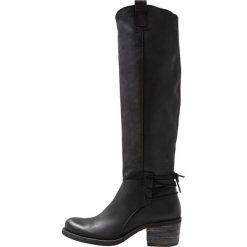 Felmini GIANI Kozaki sznurowane james black. Czarne buty zimowe damskie Felmini, z materiału. Za 969,00 zł.