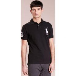 Polo Ralph Lauren BASIC SLIM FIT Koszulka polo black. Czarne koszulki polo Polo Ralph Lauren, m, z bawełny. Za 549,00 zł.