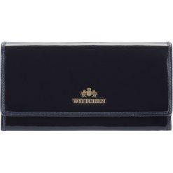Portfel 25-1-052-N. Niebieskie portfele damskie Wittchen. Za 399,00 zł.