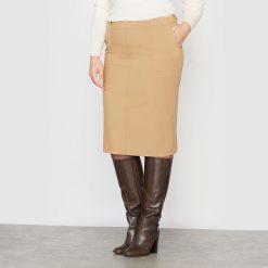 Minispódniczki: Spódnica zwężana do kolan