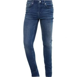 Topman Jeans Skinny Fit blue. Niebieskie rurki męskie Topman. Za 229,00 zł.