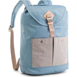 Plecak DOUGHNUT - D111-5809-F Montana Light Blue X Ivory. Niebieskie plecaki damskie Doughnut, z materiału. Za 299,00 zł.