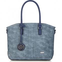 Torebka damska 87-4Y-753-N. Niebieskie torebki klasyczne damskie Wittchen, w paski. Za 299,00 zł.