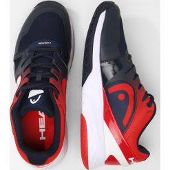 Head SPRINT 2.0 TEAM Obuwie multicourt blue/red. Niebieskie buty sportowe męskie Head, z materiału, do biegania. W wyprzedaży za 341,10 zł.