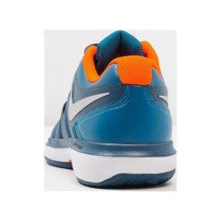 Nike Performance AIR ZOOM PRESTIGE CLY Obuwie do tenisa Outdoor green abyss/metallic silver. Niebieskie buty do tenisa męskie Nike Performance, z materiału. W wyprzedaży za 356,15 zł.