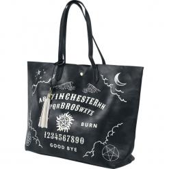 Supernatural Ouija Torebka - Handbag czarny/biały. Białe torebki klasyczne damskie Supernatural. Za 199,90 zł.
