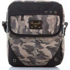 TORBA MĘSKA SZASZETKA NA RAMIĘ BAG STREET MORO. Czarne torby na ramię męskie marki Bag Street, moro, na ramię. Za 69,90 zł.