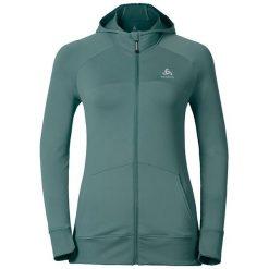 Odlo Bluza Odlo Hoody midlayer full zip ZETTA - 348091 - 348091/40159/L. Szare bluzy sportowe damskie marki Odlo. Za 299,95 zł.