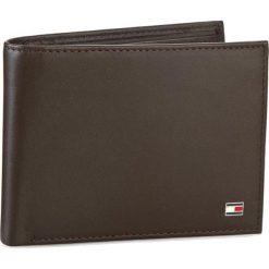 Duży Portfel Męski TOMMY HILFIGER - Eton Cc Flap And Coin Pocket AM0AM00652/83362 041. Brązowe portfele męskie TOMMY HILFIGER, ze skóry. Za 299,00 zł.