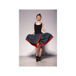 Spódniczki: AKAIRO SKIRT spódnica zakładkowa