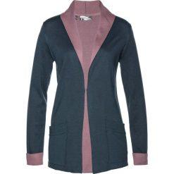 Sweter rozpinany bonprix niebieski nocny - matowy fioletowy. Szare kardigany damskie marki Mohito, l. Za 49,99 zł.