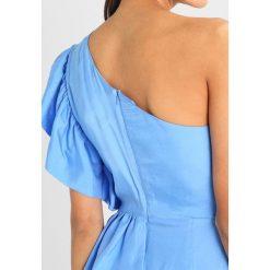 Sukienki hiszpanki: Bardot LUCIA FRILL DRESS Sukienka koktajlowa blue