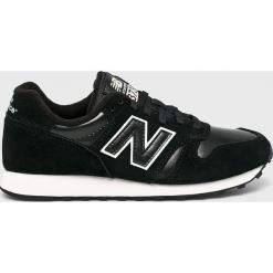 New Balance - Buty WL373BBL. Czarne buty sportowe damskie marki New Balance, z gumy. Za 299,90 zł.