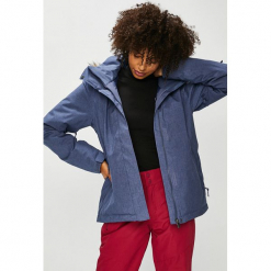 Roxy - Kurtka Snowboardowa. Szare kurtki damskie Roxy, m, z materiału, z kapturem. Za 799,90 zł.